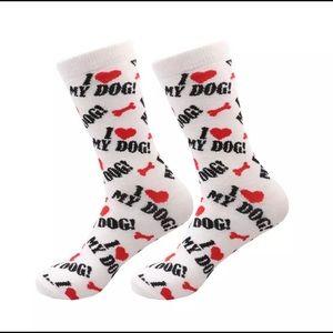 Accessories - I ❤️ my dog socks